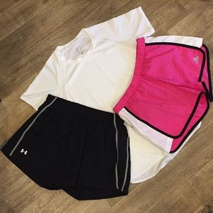 Other - Running gear Adidas Under Armour Nike Size S